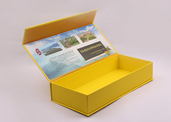Eco Friendly Full Color Printing Matt Cardboard Magnetic Gift Box Packaging